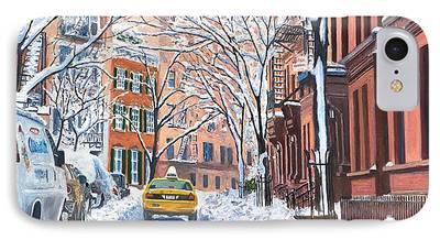Snow Scene iPhone Cases