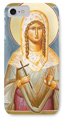 St Julia Of Carthage iPhone Cases