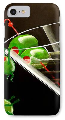 Fantasy Realistic Still Life Paintings iPhone Cases