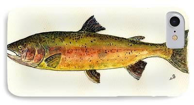 Salmon iPhone 8 Cases