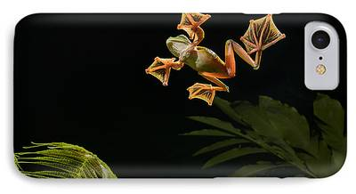Abah River Flying Frog iPhone Cases