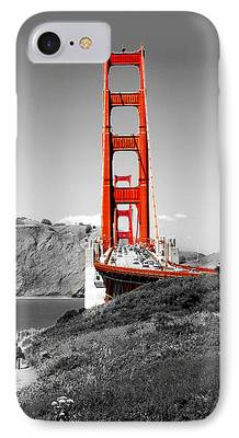 Golden Gate Bridge iPhone Cases