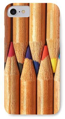 Color Pencil iPhone Cases