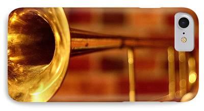 Trombone iPhone Cases