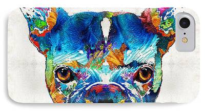 Doggie Art iPhone Cases