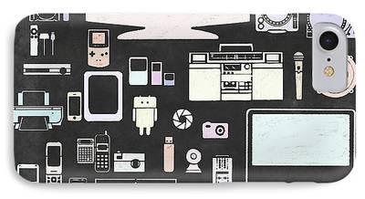 Multimedia iPhone Cases
