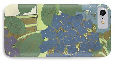 Bamboo Fence Paintings iPhone Cases
