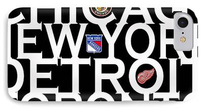 Detroit Red Wings iPhone Cases