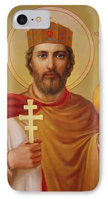 Saint Volodymyr iPhone Cases