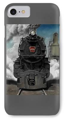 Train iPhone 8 Cases
