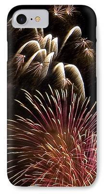 Streams Of Sparks iPhone Cases
