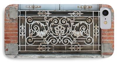 Antique Ironwork iPhone Cases