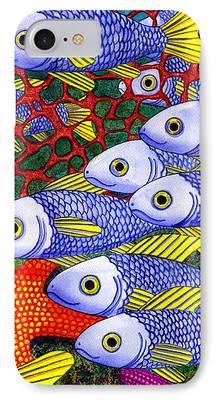 Schools Of Fish iPhone Cases