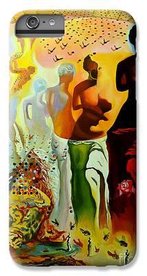 Illusion Paintings iPhone 8 Plus Cases