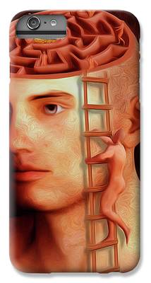 Brain Freeze Paintings iPhone 8 Plus Cases
