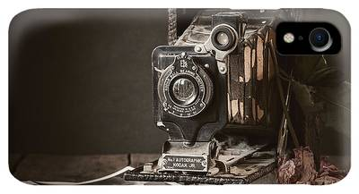 Vintage Camera Photographs iPhone XR Cases