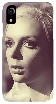 Barbara Steele Digital Art iPhone XR Cases
