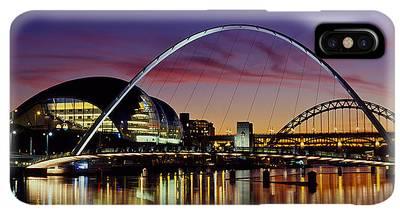 Tyne Bridge Iphone Xs Max Cases Fine Art America