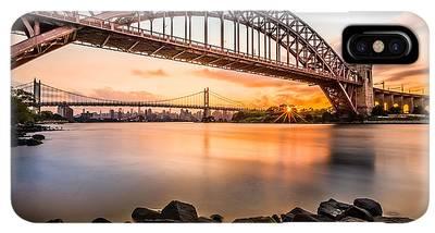 Triboro Bridge Iphone Xs Max Cases Fine Art America