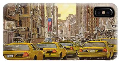New York Taxi iPhone XS Max Cases