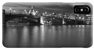 Hungerford Bridge Iphone Xs Max Cases Fine Art America