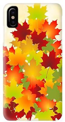 Autumn Leaf Color Iphone Xs Max Cases Fine Art America