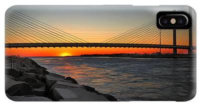 Charles River Bridge Iphone Xs Max Cases Fine Art America
