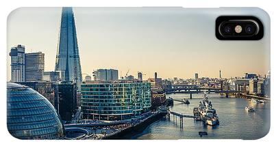 London City Hall Iphone Xs Max Cases Fine Art America