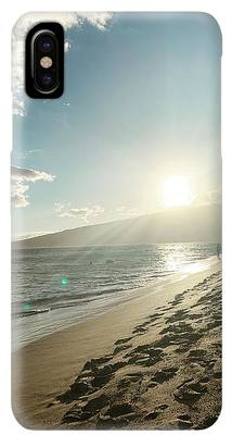 Beach Sunset iPhone XS Max Cases