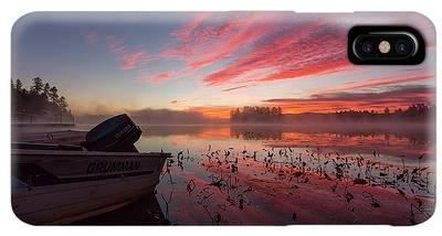 Raquette River Iphone Xs Max Cases Fine Art America