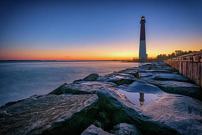 Lighthouse At Sunrise Posters