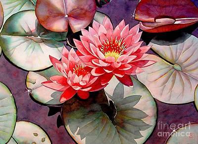 Lotus Pond Posters