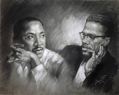African-american Drawings Posters