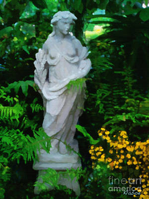 Garden Statue Of Ceres Posters