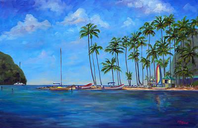 Island .oasis Paintings Posters