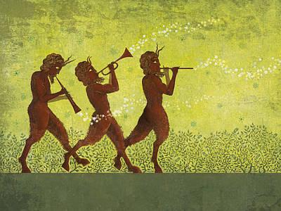 Trumpet Digital Art Posters