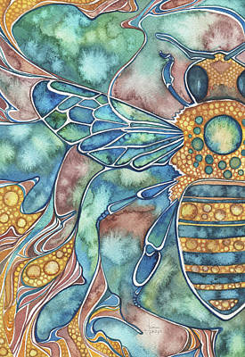 Nature Bee Posters