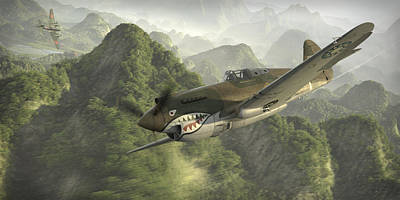 P-40 Posters