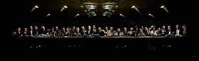 Last Supper Digital Art Posters