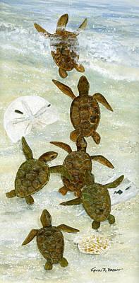 Sea Turtles. Kevin Brant Posters