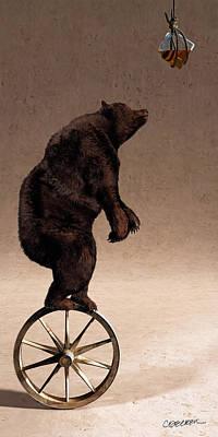 Wagon Wheels Digital Art Posters