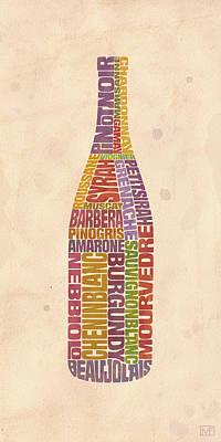 Wineries Digital Art Posters