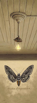 Old Light Bulb Posters