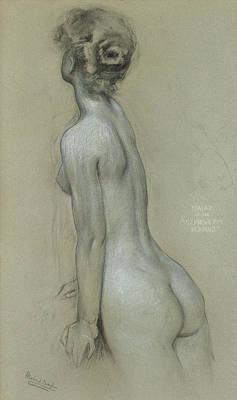 Feminine Drawings Posters