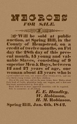 Slaves Mixed Media Posters