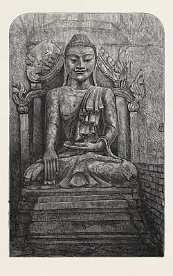 Budha Drawings Posters