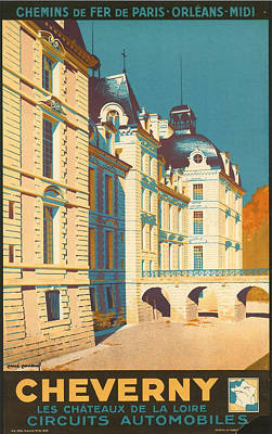 Historic Architecture Digital Art Posters