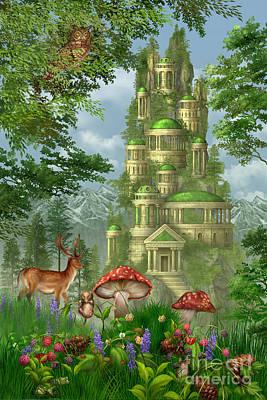 Fungi Digital Art Posters