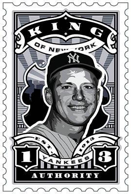 Babe Ruth Baseball Card Posters