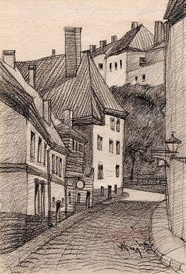 Tallinn Drawings Posters